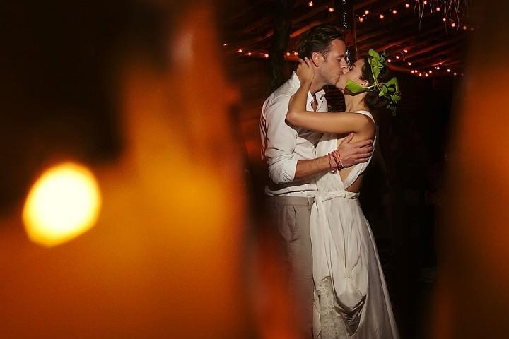 30 Bohemian Beach Wedding in Mexico. By Quetzal Photo