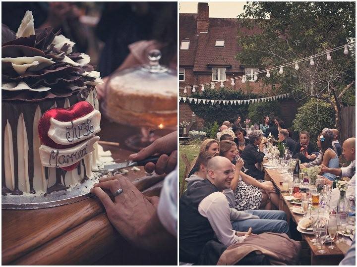 31 Backyard Wedding. By Benni Carol Photography.