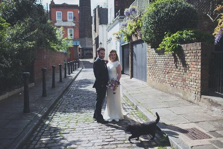 Burgh House in London Wedding Sarah & Chris