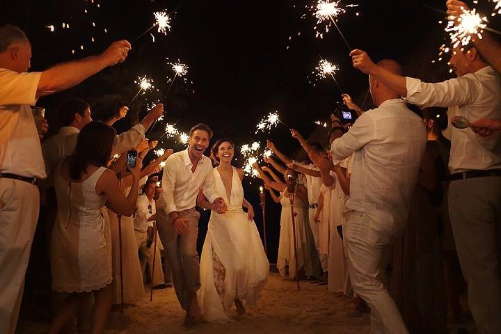 32 Bohemian Beach Wedding in Mexico. By Quetzal Photo