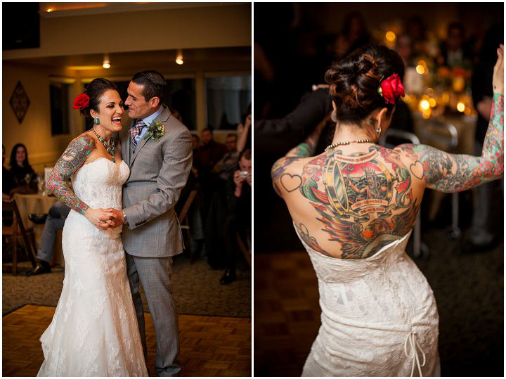 32 Turquoise and Coral Tattooed Wedding By A Perfect Impression