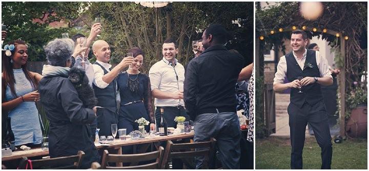 33 Backyard Wedding. By Benni Carol Photography.