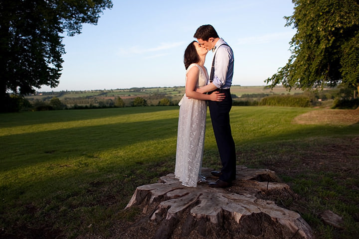7th June 2014. Hannah and Dean's wedding at Middle Ashton House in Oxfordshire.