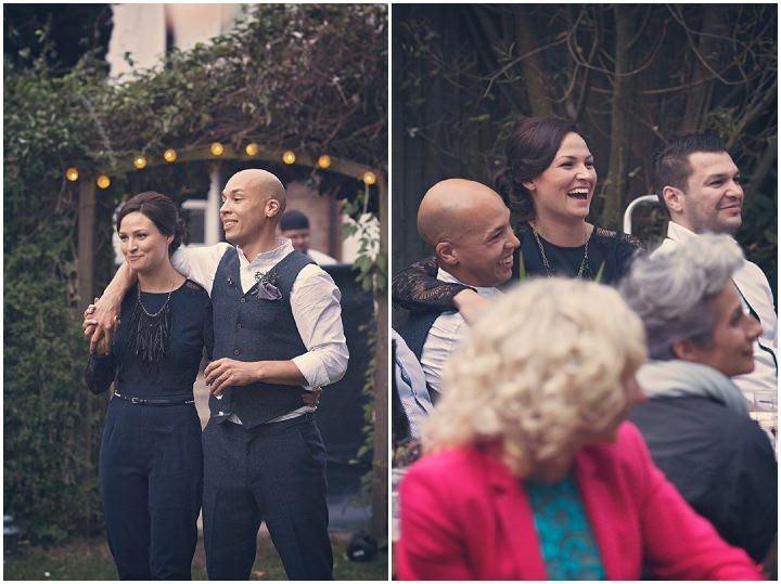 34 Backyard Wedding. By Benni Carol Photography.