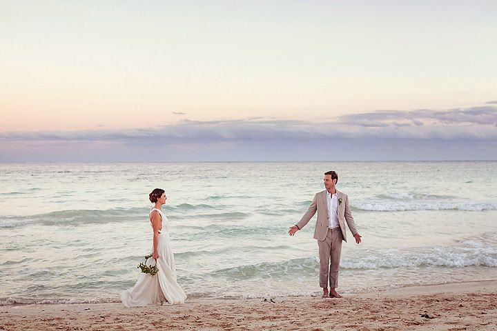 4 Bohemian Beach Wedding in Mexico. By Quetzal Photo