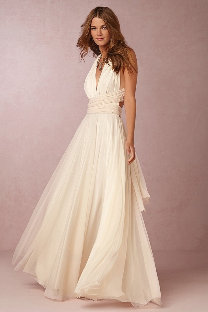 Bridal style bhldn swept away collection destination for Wedding dress for destination wedding