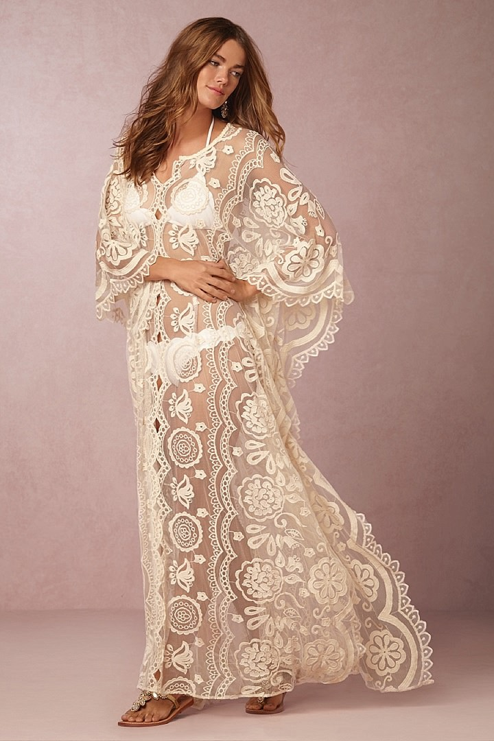 bohemian wedding dress plus size bridal style bhldn swept away collection destination 2001
