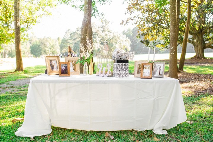 11 Pink and Gold Outdoor Wedding by Priscilla Thomas Photography