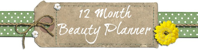 12 Month Beauty Planner