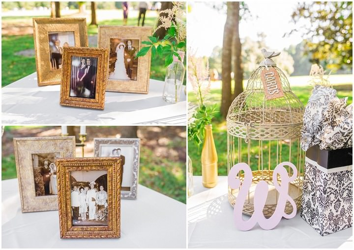 12 Pink and Gold Outdoor Wedding by Priscilla Thomas Photography