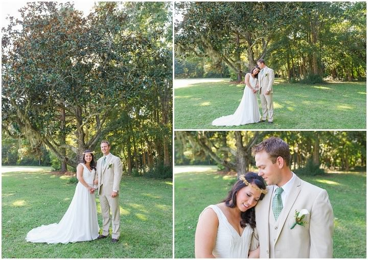 19 Pink and Gold Outdoor Wedding by Priscilla Thomas Photography