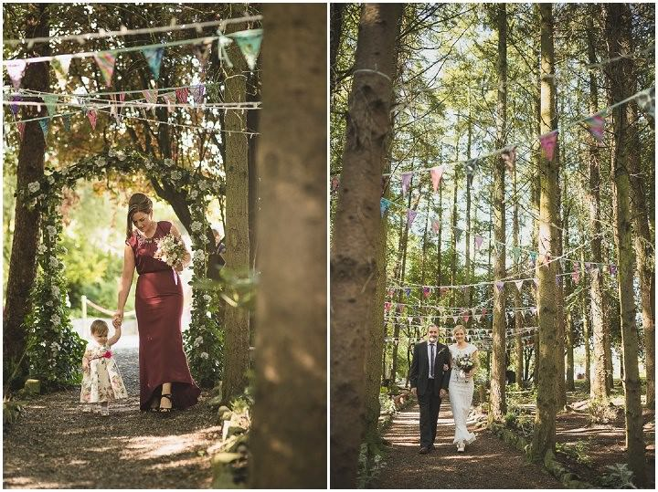 Intimate Woodland Wedding In Ireland By Tomasz Kornas Boho