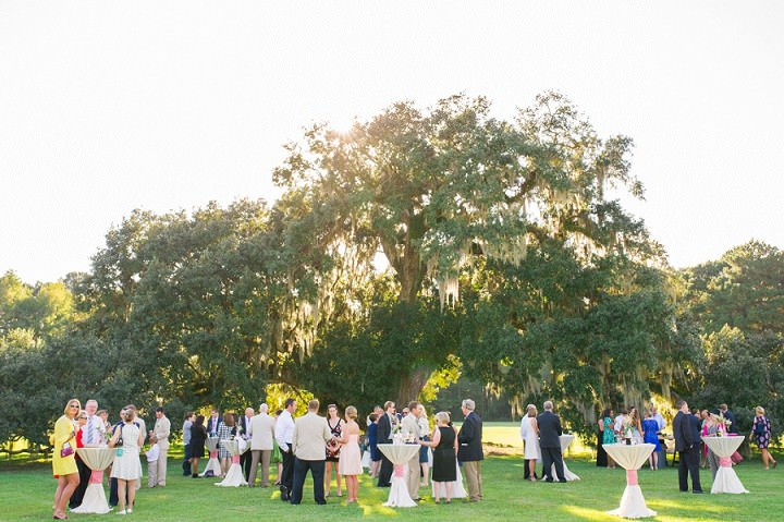 22 Pink and Gold Outdoor Wedding by Priscilla Thomas Photography