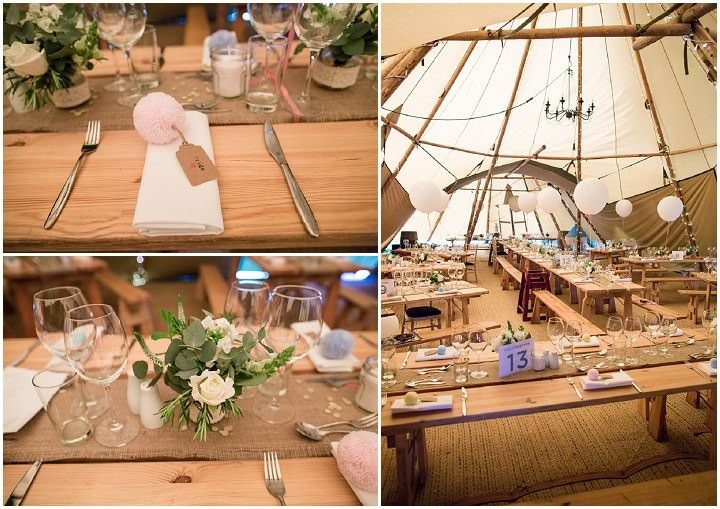 24 Relaxed Tipi Wedding by Binky Nixon Photography