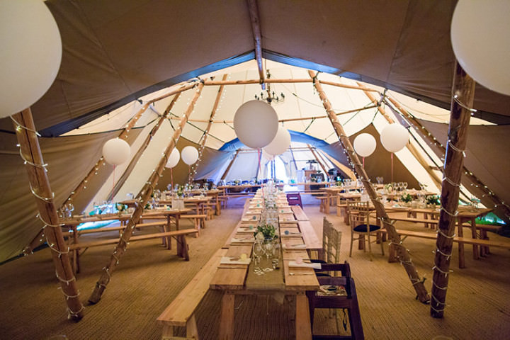 27 Relaxed Tipi Wedding by Binky Nixon Photography