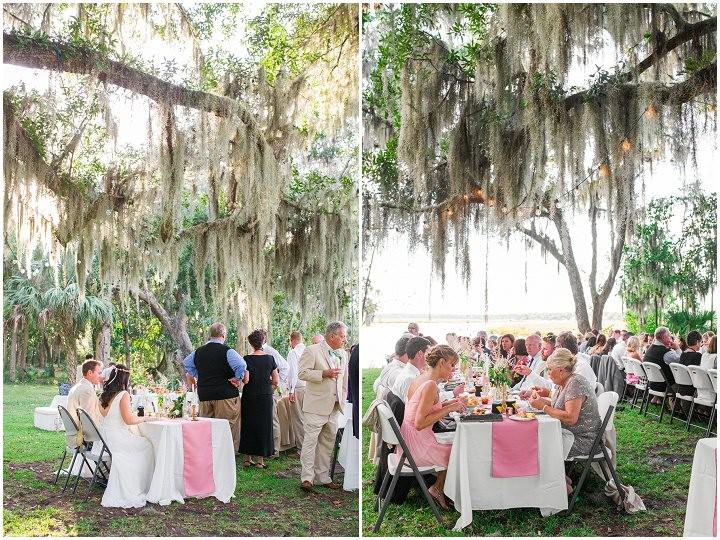 29 Pink and Gold Outdoor Wedding by Priscilla Thomas Photography