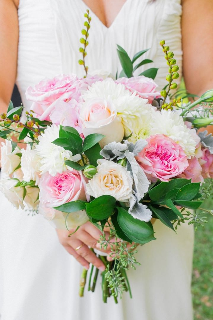 3 Pink and Gold Outdoor Wedding by Priscilla Thomas Photography
