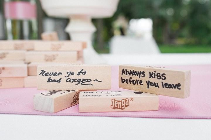31 Pink and Gold Outdoor Wedding by Priscilla Thomas Photography