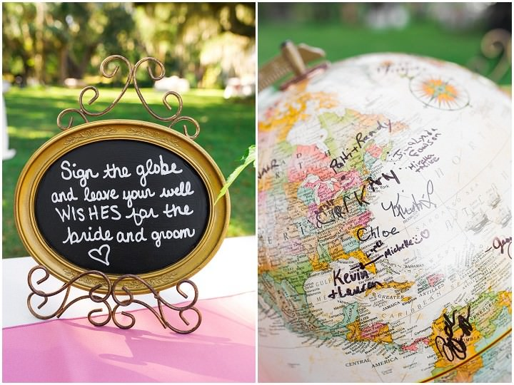 32 Pink and Gold Outdoor Wedding by Priscilla Thomas Photography
