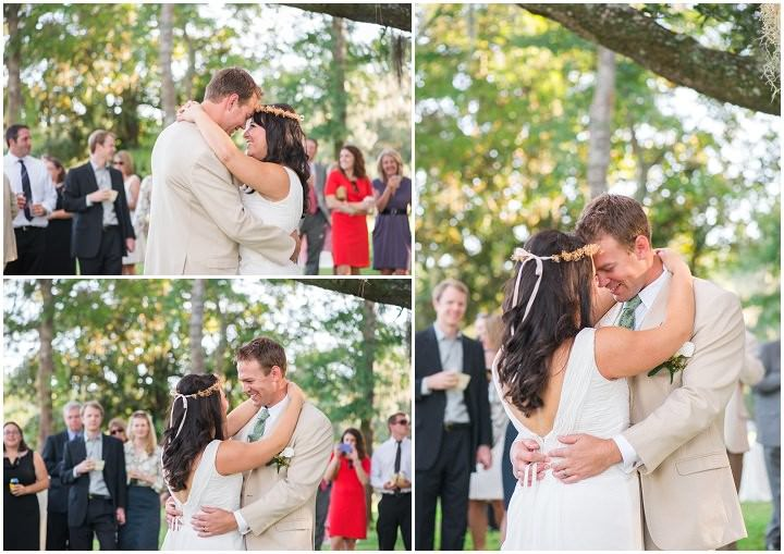 36 Pink and Gold Outdoor Wedding by Priscilla Thomas Photography