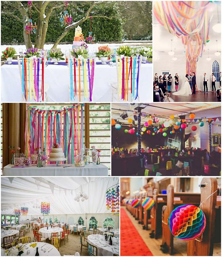 rainbow wedding decorations ideas and inspiration for your rainbow wedding boho 6953