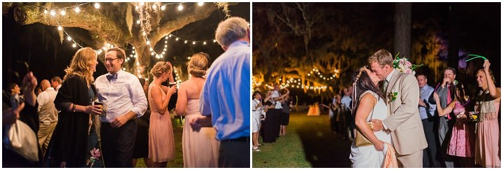 40 Pink and Gold Outdoor Wedding by Priscilla Thomas Photography