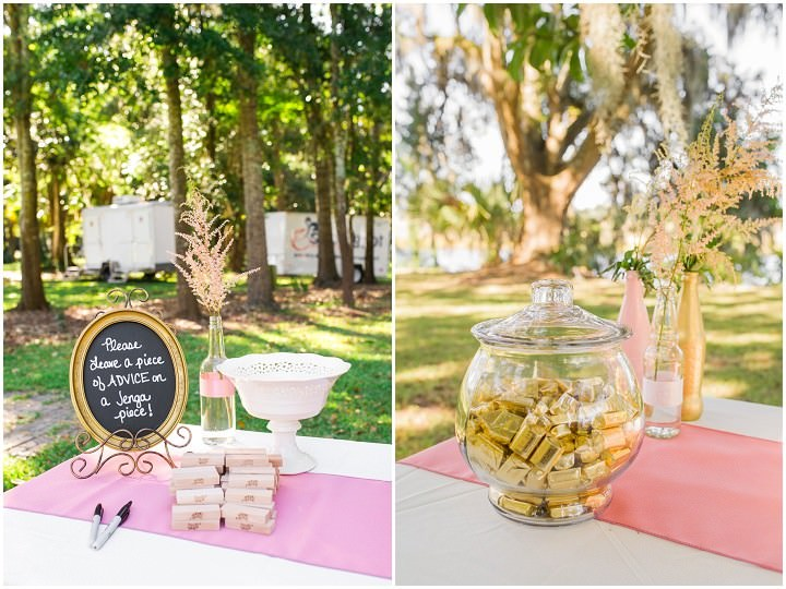 5 Pink and Gold Outdoor Wedding by Priscilla Thomas Photography