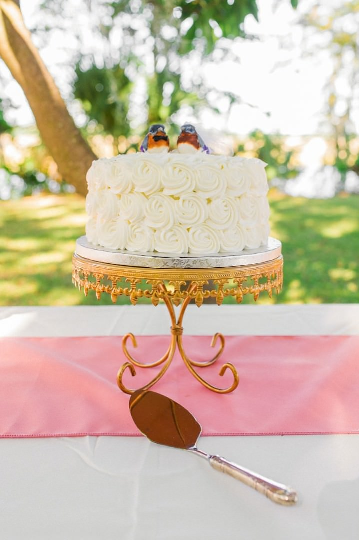 9 Pink and Gold Outdoor Wedding by Priscilla Thomas Photography