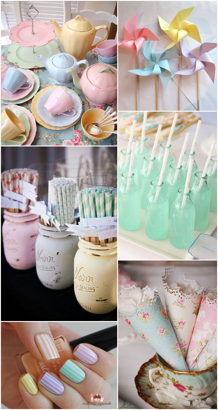 Ideas And Inspiration For Your Pastel Wedding Boho Weddings Uk