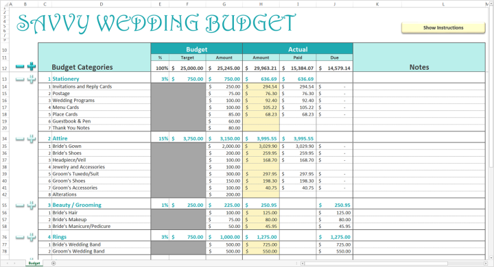 wedding spreadsheet elita aisushi co