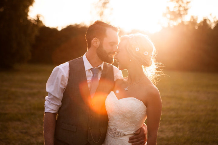 Alicia and Thom's Handmade Country Wedding Filled with Daisies, by Joanna Bongard Photography