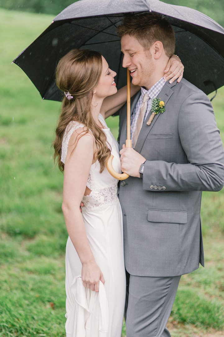 15 Rain Filled Wedding by SMB Photography