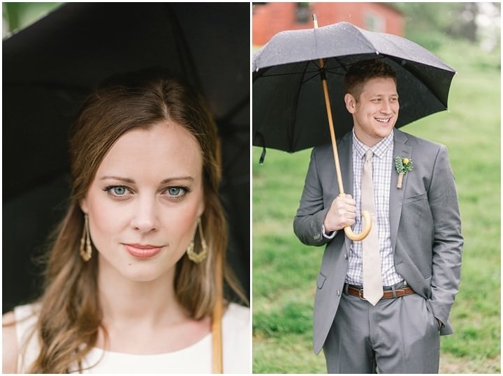 16 Rain Filled Wedding by SMB Photography