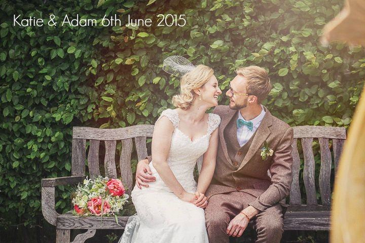 Katie and Adam's Vintage Inspired Teal and Coral Wedding by Mr & Mrs Wedding Photography