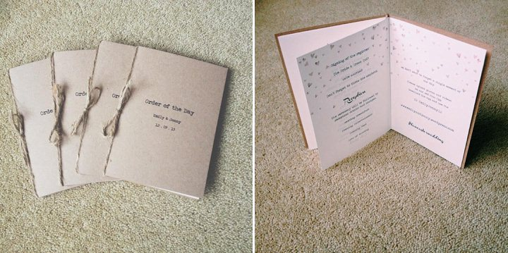 Diary of a Boho Bride - Emily & Jonny, Entry 10: Getting Organised