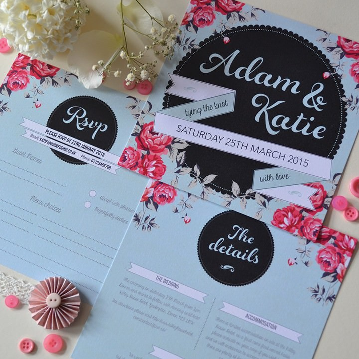 Anon Design Wedding Stationery