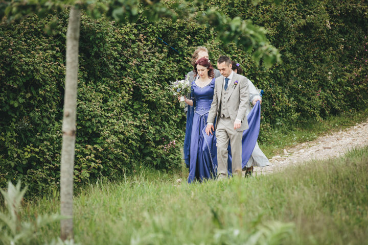 11 Wedding at River Cottage by Helen Lisk Photography