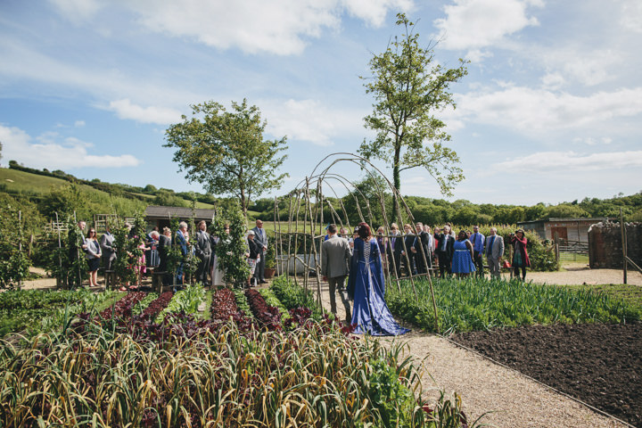 15 Wedding at River Cottage by Helen Lisk Photography