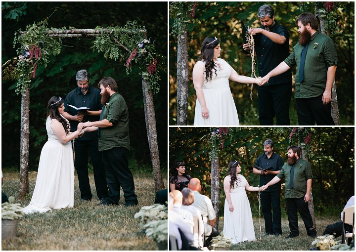 16 Hand Fasting Woodland Wedding, by Kel Ward Photography