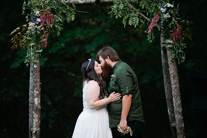 18 Hand Fasting Woodland Wedding, by Kel Ward Photography