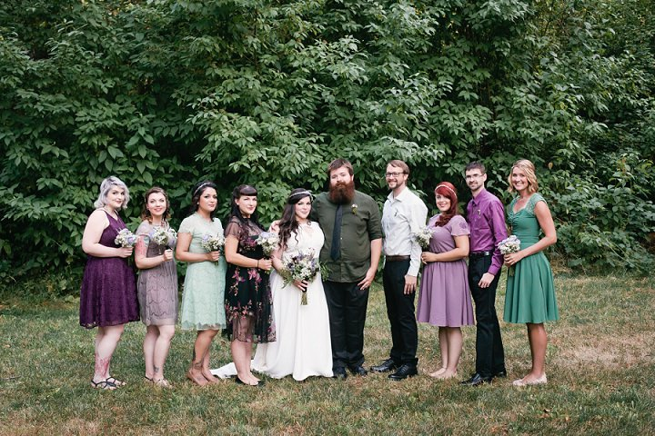 19 Hand Fasting Woodland Wedding, by Kel Ward Photography