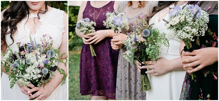 20 Hand Fasting Woodland Wedding, by Kel Ward Photography
