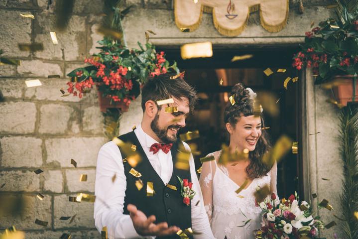 23 Bohemian Wedding in Beautiful Croatia
