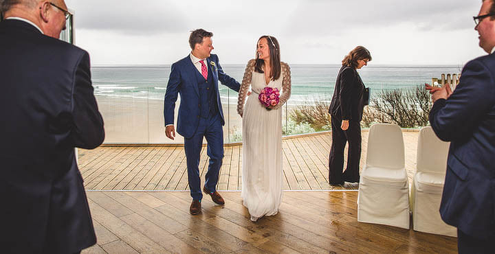 24 Cornish Wedding with a Beautiful Beach Backdrop, by S6 Photography