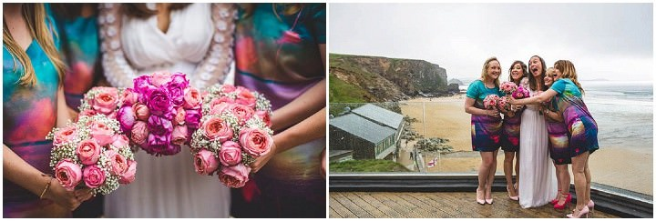 32 Cornish Wedding with a Beautiful Beach Backdrop, by S6 Photography