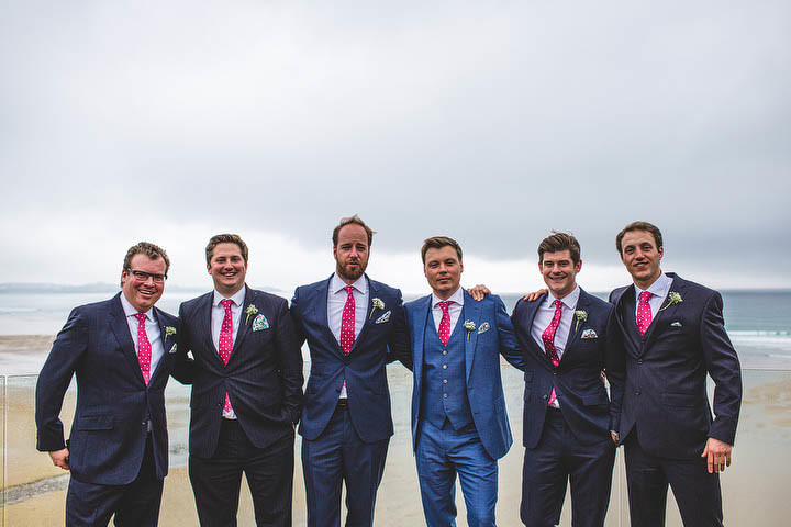 33 Cornish Wedding with a Beautiful Beach Backdrop, by S6 Photography