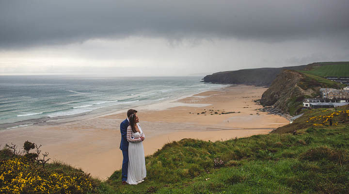 35 Cornish Wedding with a Beautiful Beach Backdrop, by S6 Photography