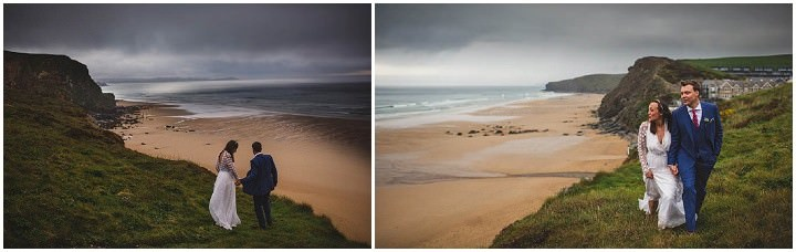 36 Cornish Wedding with a Beautiful Beach Backdrop, by S6 Photography