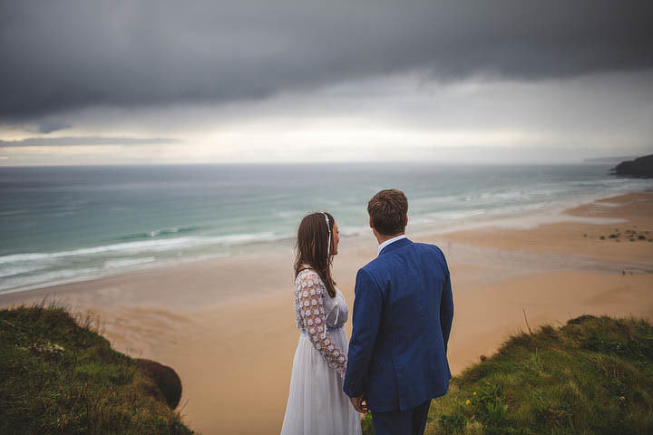 37 Cornish Wedding with a Beautiful Beach Backdrop, by S6 Photography
