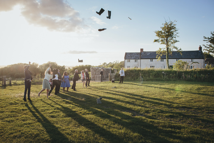 4 Wedding at River Cottage by Helen Lisk Photography